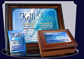 PC-WA03, Name Meaning Card, Wallet Sized, with Bible Verse, personalized, ocean wave tidal kelli