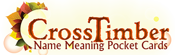 CrossTimber Name Meaning Gifts logo